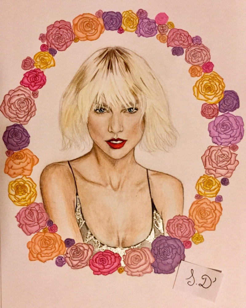 Taylor Swift by sabrinadaudigier